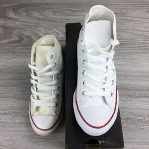 Converse Chuck Taylor White Hi-top Sneakers